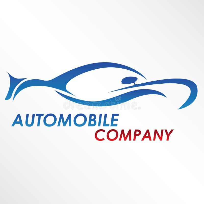 Modern automobile logo vector illustration