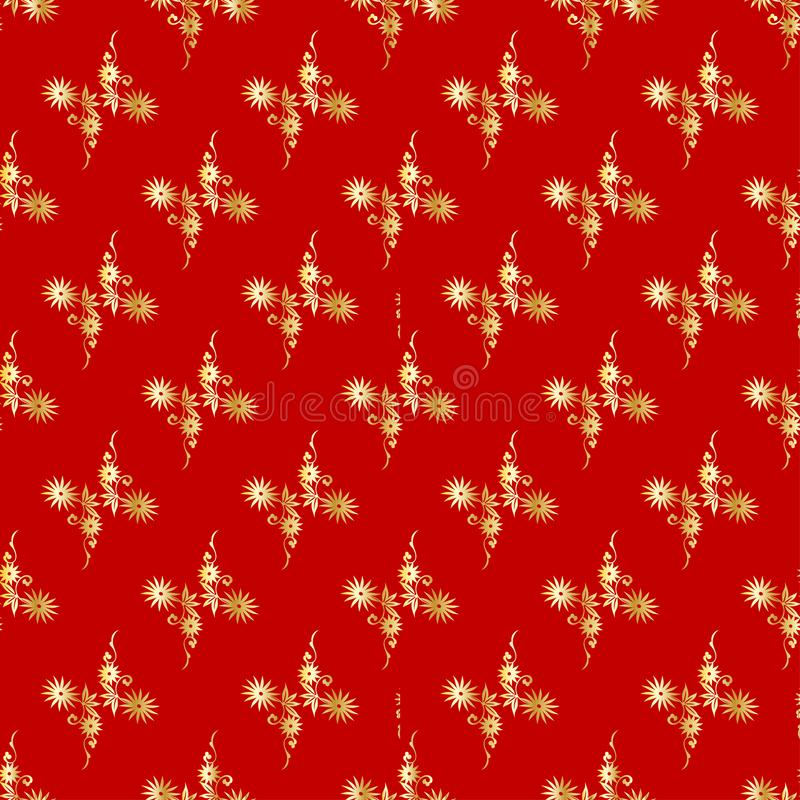 Modern background for decorative design. Trendy art background. Tile seamless asian pattern. Japanese pattern. Seamless royalty free illustration