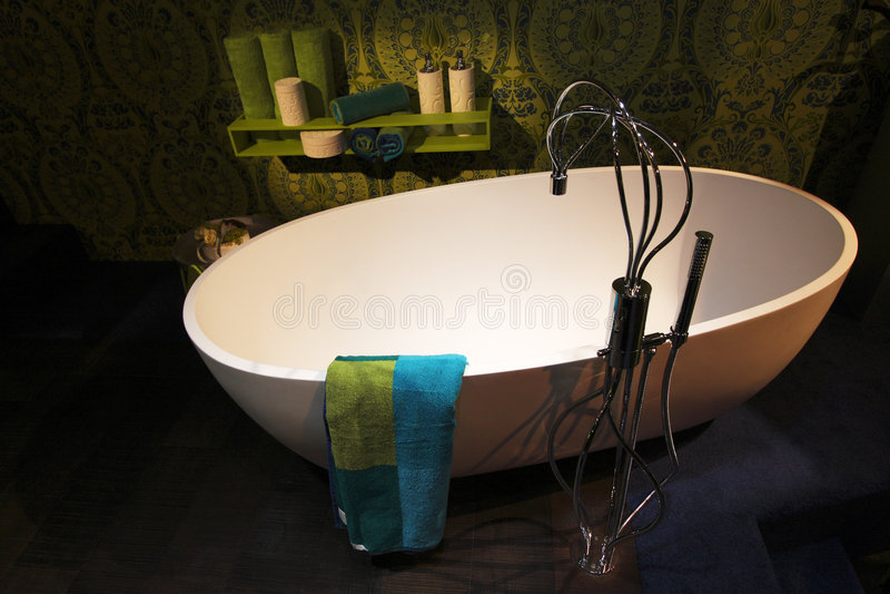 modern badrumsamtida royaltyfri foto
