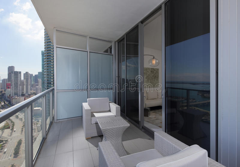 modern balcony furniture. Download Modern Balcony Furniture Stock Image. Image Of Condominium - 48051535