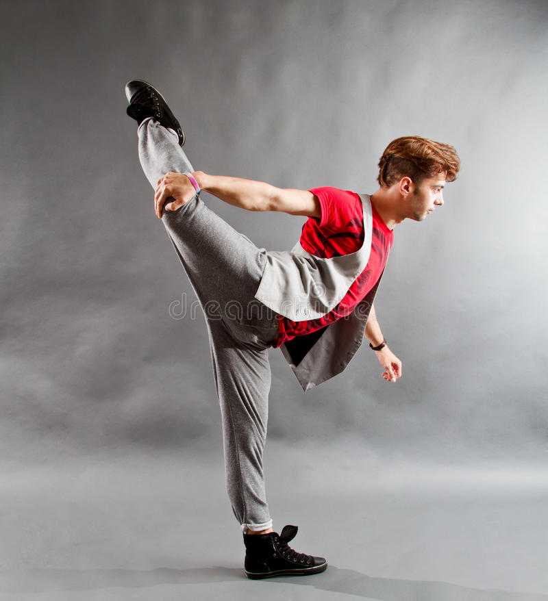 Modern balettdansör royaltyfri fotografi