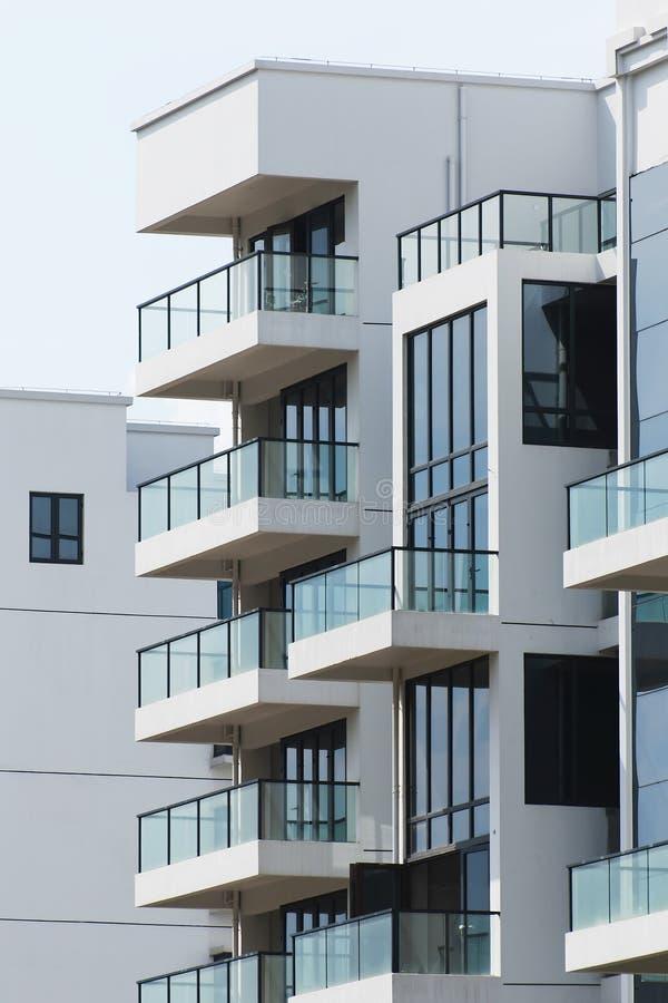 Modern Balkon stock afbeeldingen