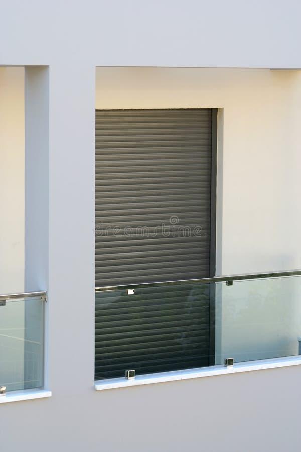 modern balkong royaltyfri foto
