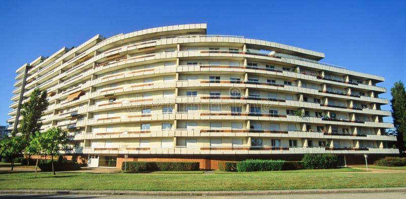 modern balkong arkivfoto