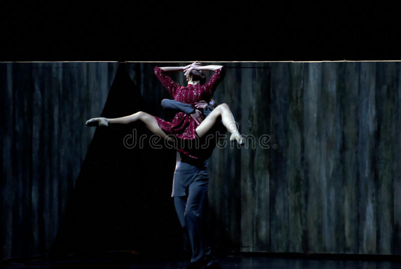 Download Modern ballet dancers-3 editorial stock photo. Image of life - 24136433