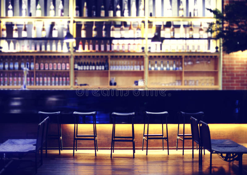 Modern bar royalty free stock images