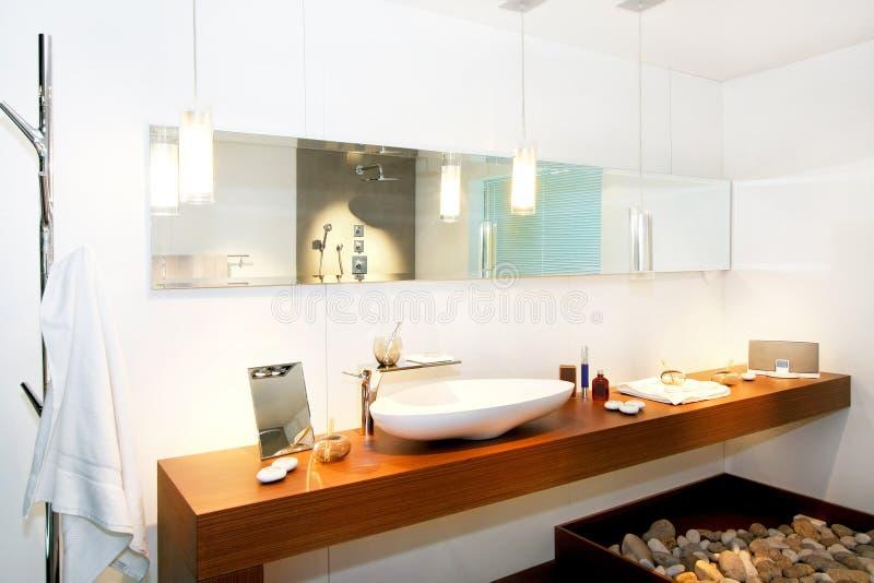 Modern bathroom 2 stock image
