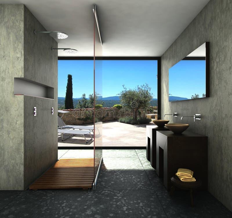 Free Modern Bathroom Stock Images - 37416434