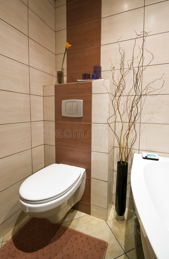 Free Modern Bathroom Stock Image - 9107021