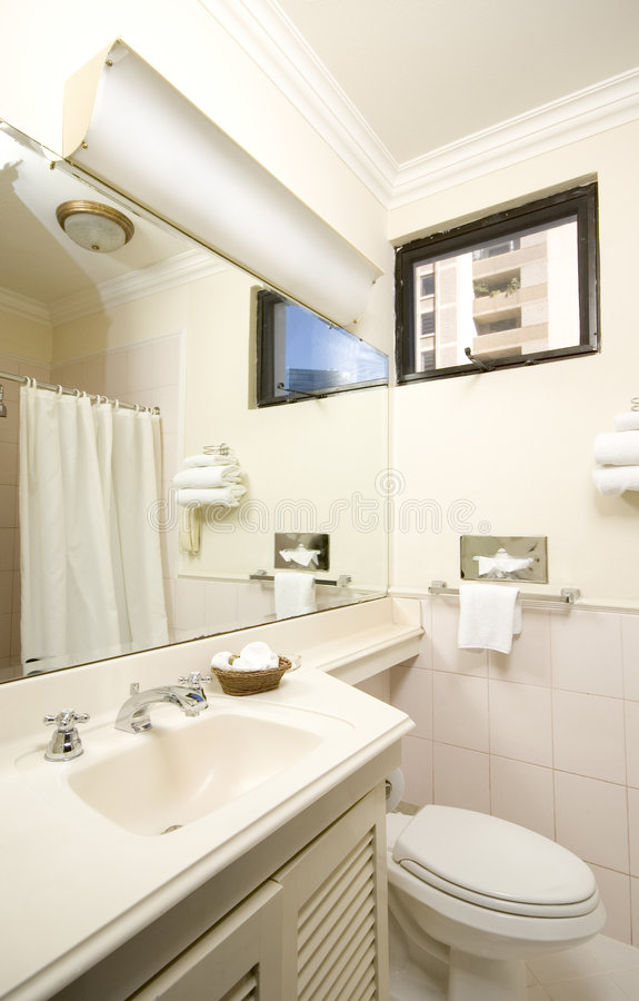 Modern bathroom guatemala royalty free stock photos