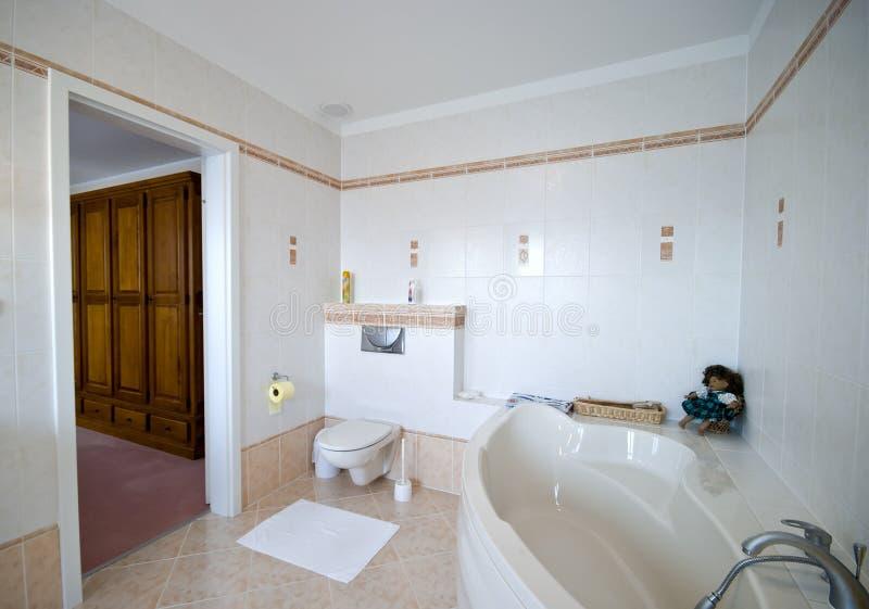 Download Modern bathroom interior stock photo. Image of basin, interiors - 6118000