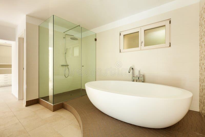 Modern bathroom stock images