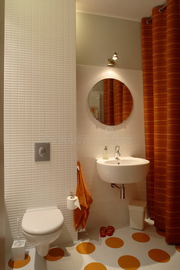 Modern Bathroom For Kids stock photography