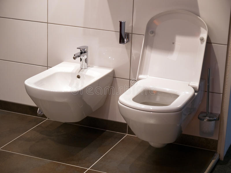 Download Modern Bathroom Toilet Seat Stock Photo   Image: 11592942