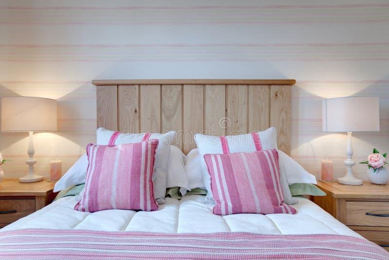 Modern Bed royalty-vrije stock foto