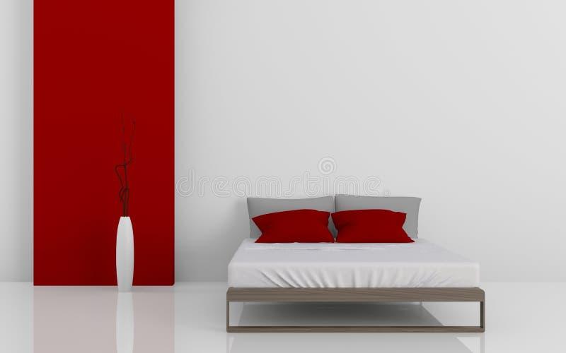 Download Modern bed 3D stock illustration. Illustration of contemporary - 34613353