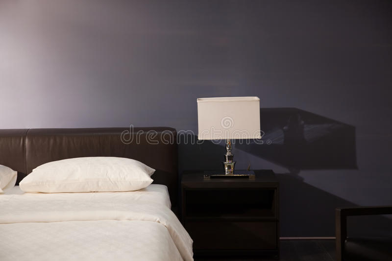 Download Modern bed room interior stock photo. Image of household - 12411268