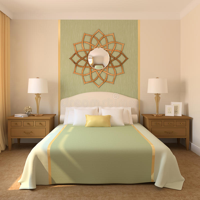 Download Modern Bedroom. Stock Photography - Image: 17836882