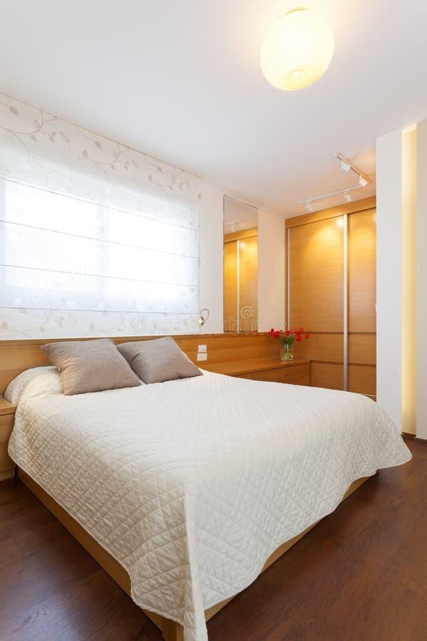 Modern Bedroom royalty free stock photo