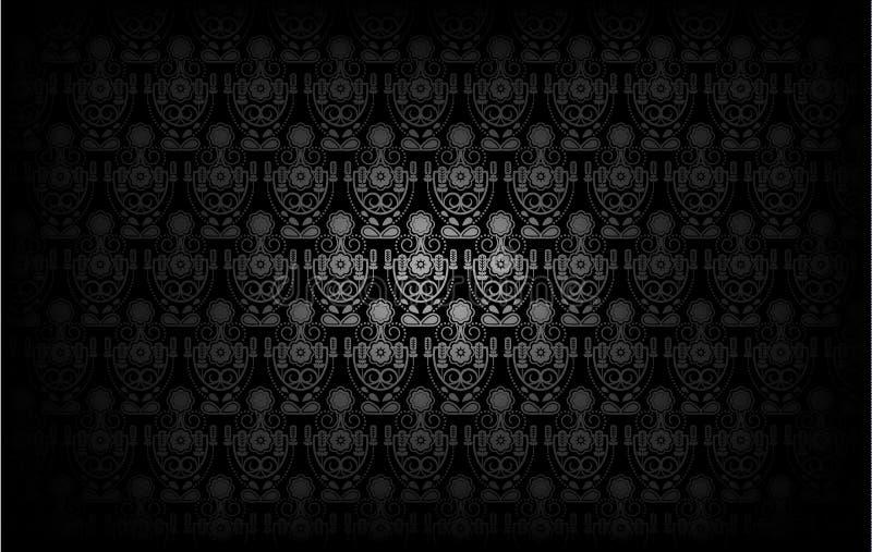 Modern Behangpatroon Achtergrond voor uw ontwerp Donkere dekking vector illustratie