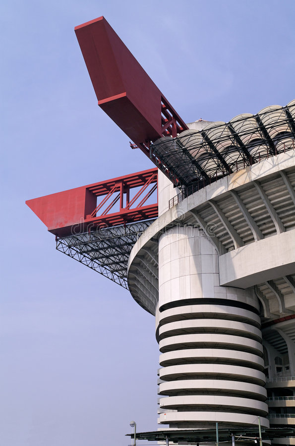 Modern beton en staal stock afbeelding