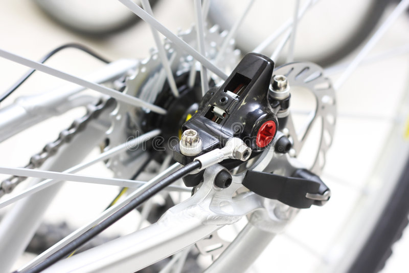 Modern bicycle royalty free stock image