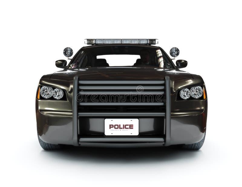 Modern bil för polis stock illustrationer