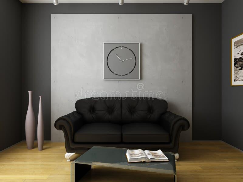 Modern binnenlands ontwerp stock foto's