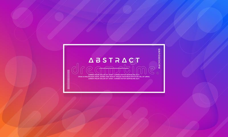 Modern blue, purple, orange abstract background is suitable for web, header, web banner, landing page, digital background, digital royalty free illustration