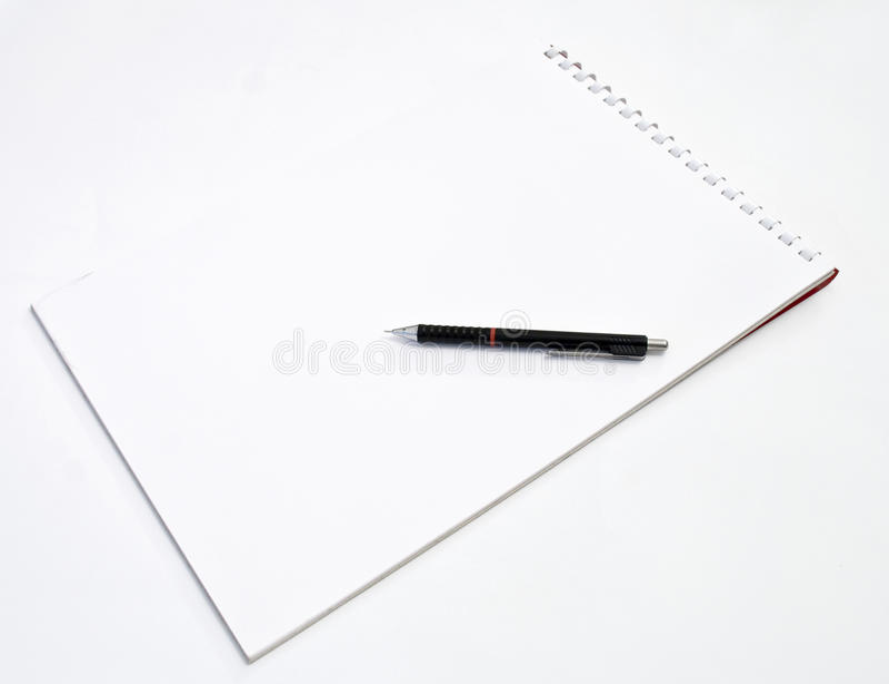 modern blyertspenna royaltyfria bilder