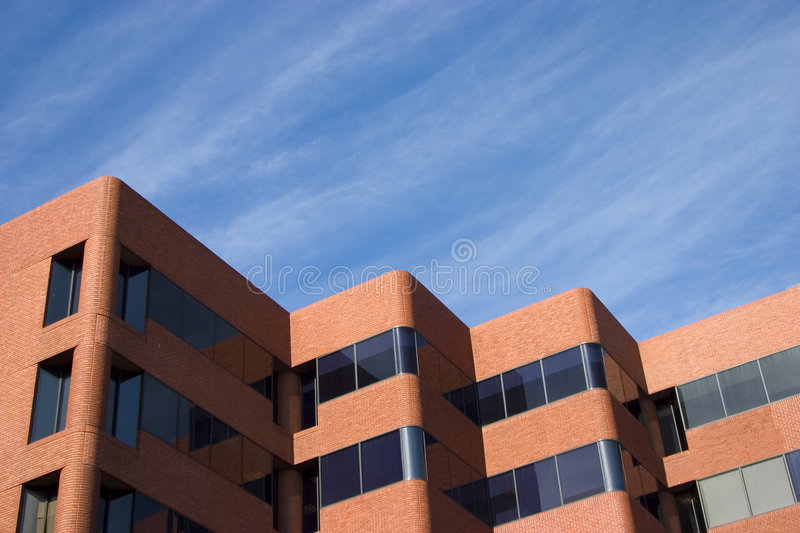 Modern Brick Building royalty free stock images