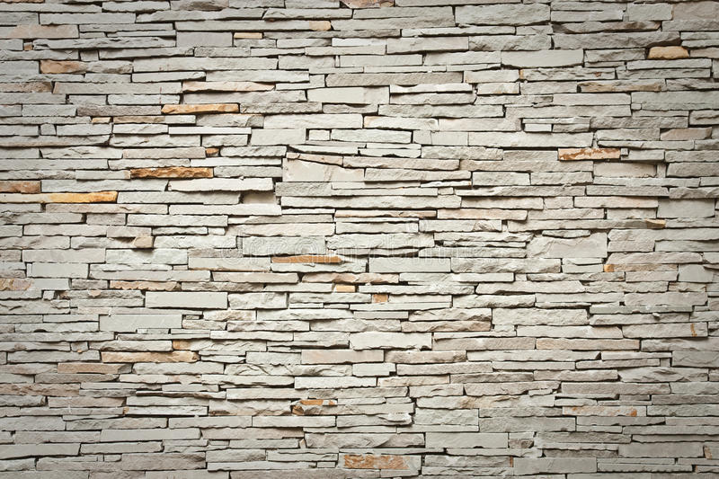 Modern brick wall royalty free stock photo