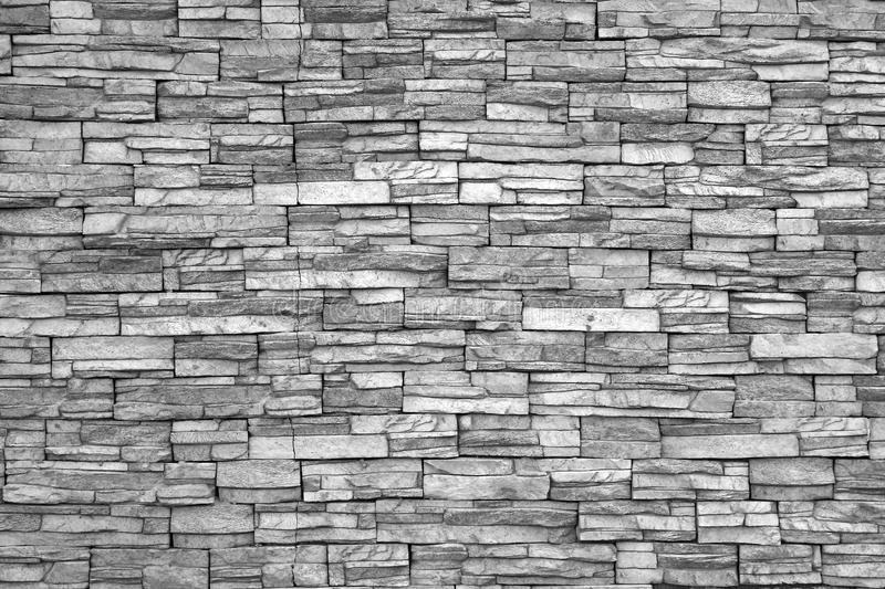 Modern Brick Wall (black And White Photo).Brick Wall As ...