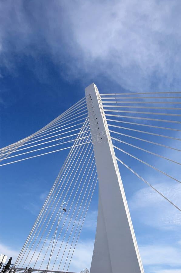 Modern bridge royalty free stock image