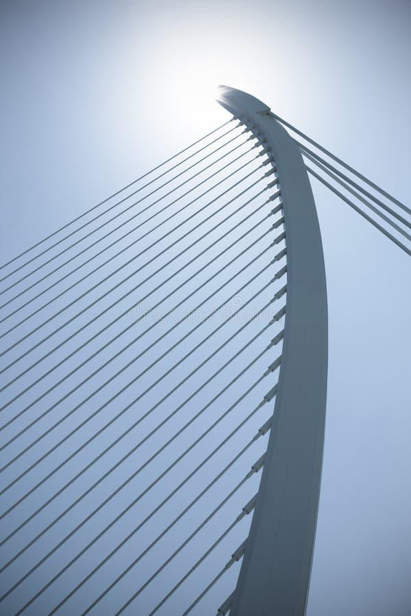 Download Modern bridge stock image. Image of sunny, bridge, curve - 15931857