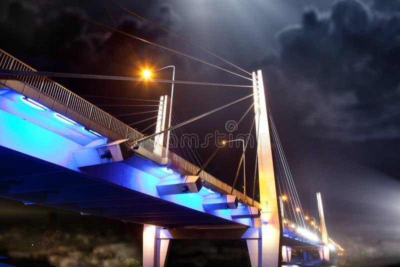 Modern bridge royalty free stock photos