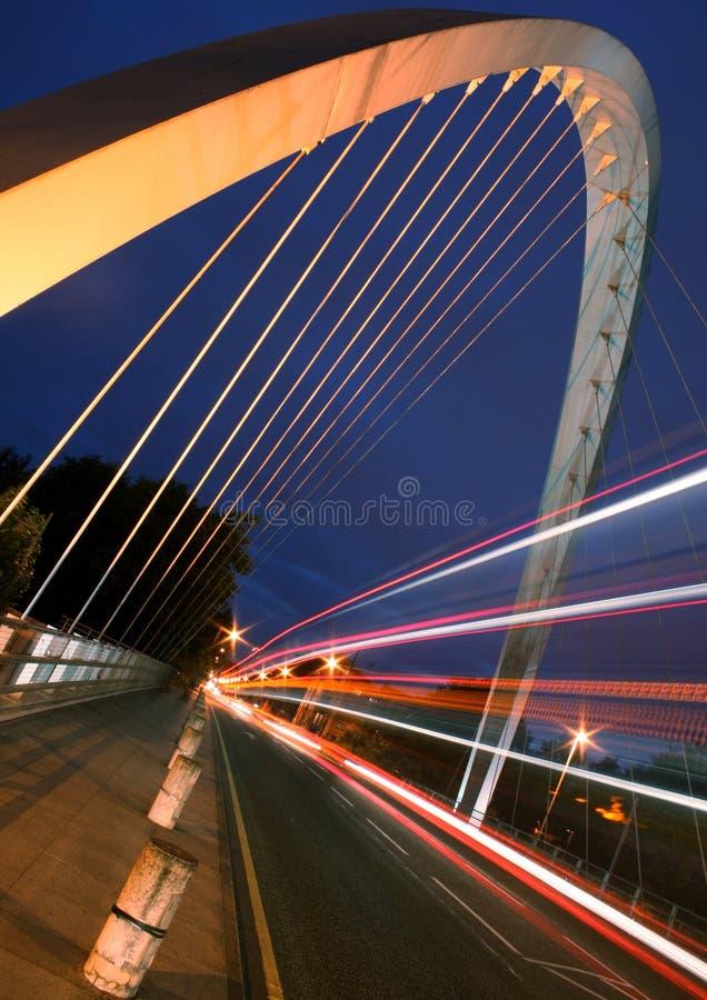 Modern Bridge in Manchester