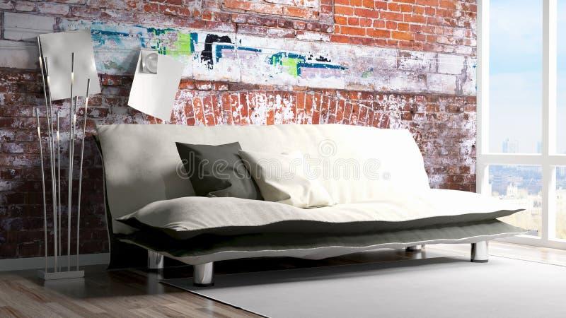 Download modern bright interior 3d rendering stock illustration illustration of bright indoor