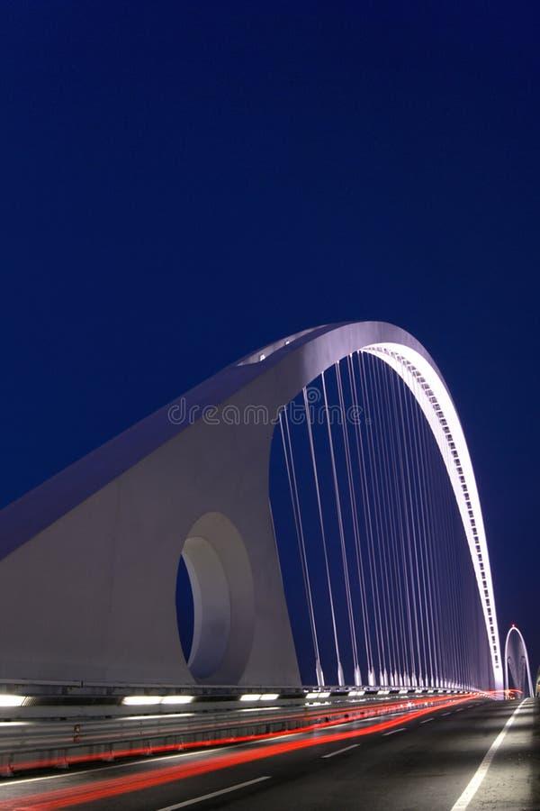modern bro arkivfoto