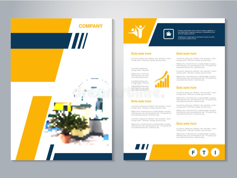 Download Modern Brochure Abstract Flyer With Background Of House Interier Layout Template Poster