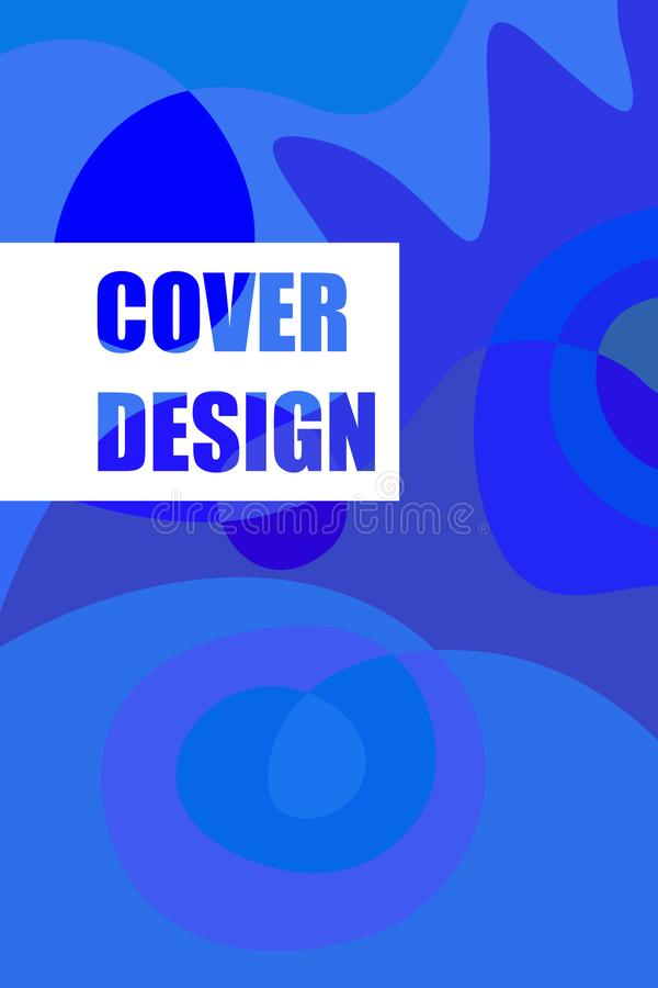Modern brochure covers, futuristic design. Abstract Diffuse colored spots background. Vector template minimalist poster royalty free stock image