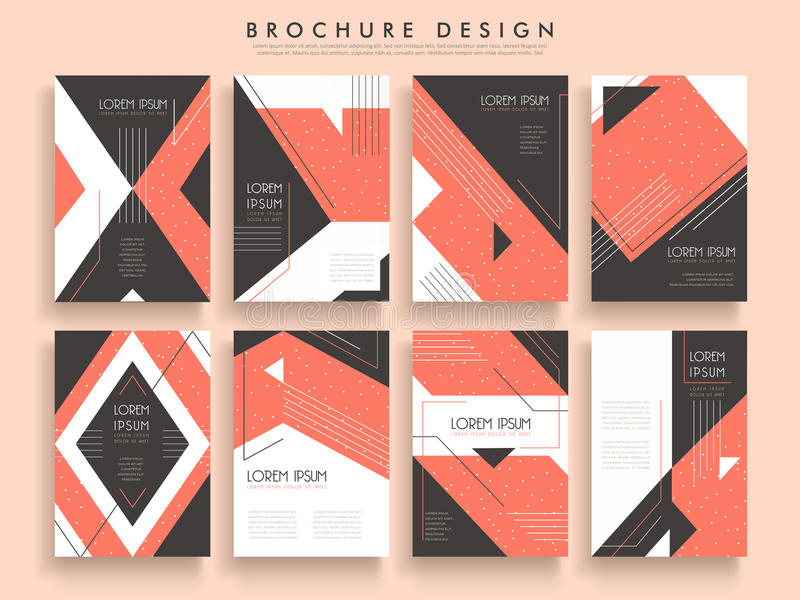 Modern Brochure Template Stock Vector Illustration Of Style - Modern brochure template