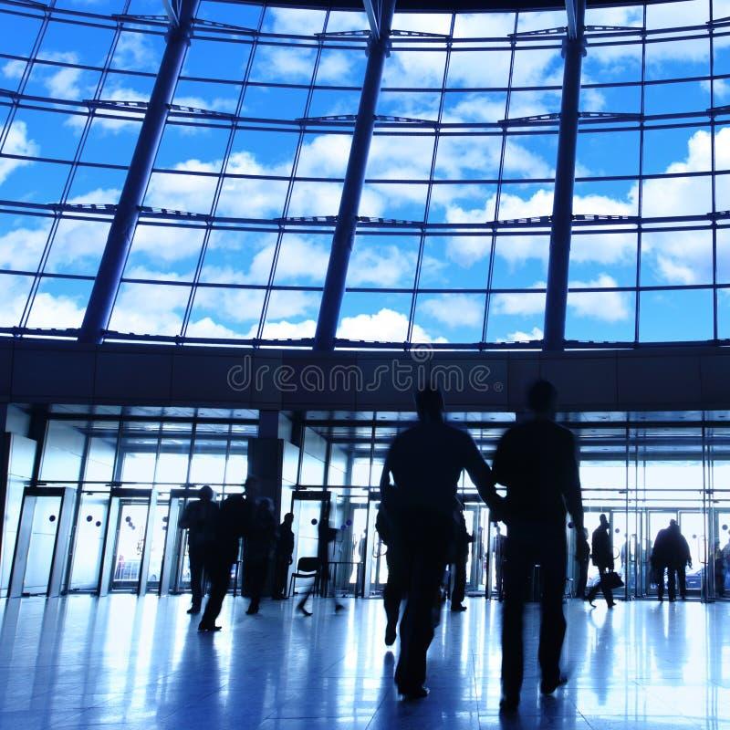 Download Modern building stock image. Image of modern, blue, business - 10190495
