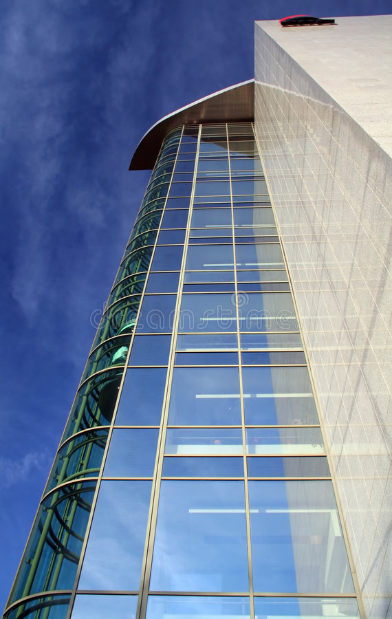 Download Modern building stock photo. Image of centre, balance - 1662530