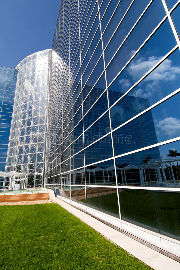 Download Glass Building stock photo. Image of mirroring, angle - 18874428