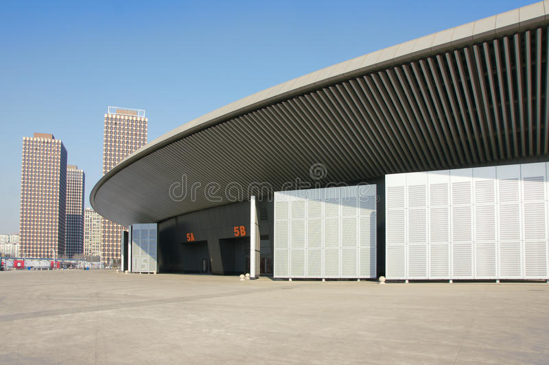 Download Modern building stock photo. Image of buildings, exhibition - 23332222