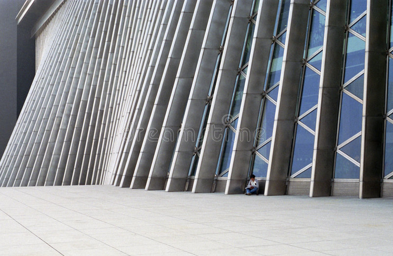 Download Modern Building Royalty Free Stock Photography - Image: 4118257