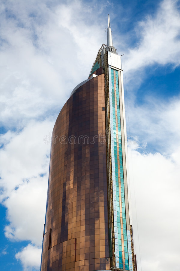 Modern building. stock photography
