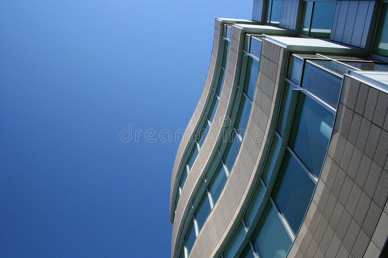 Download Modern building stock photo. Image of wave, university - 5348228