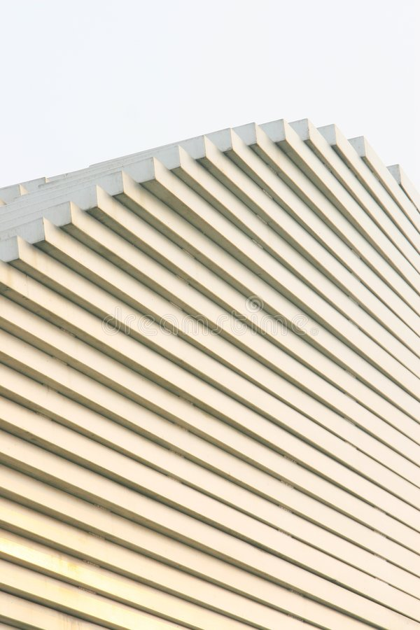 The modern building. In beijing of china stock photos